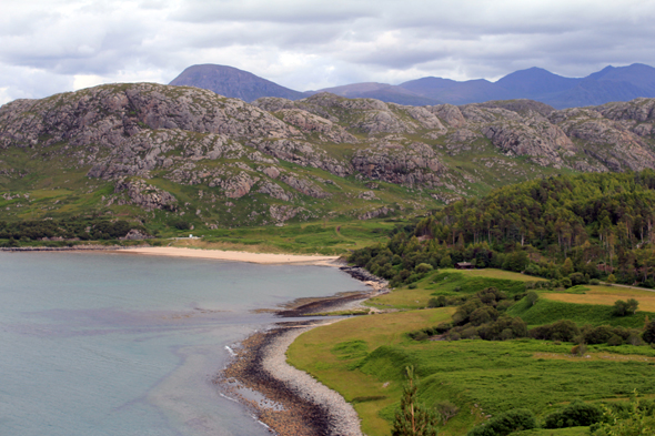 Gruinard Bay, Highlands, Escocia