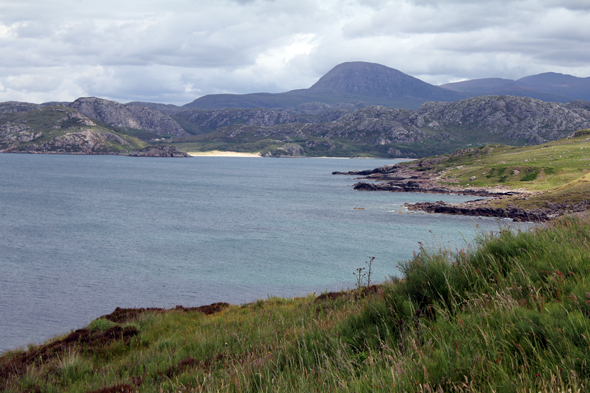 Gruinard Bay, vista