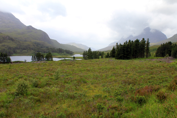 Glen Torridon, Highlands, écosse