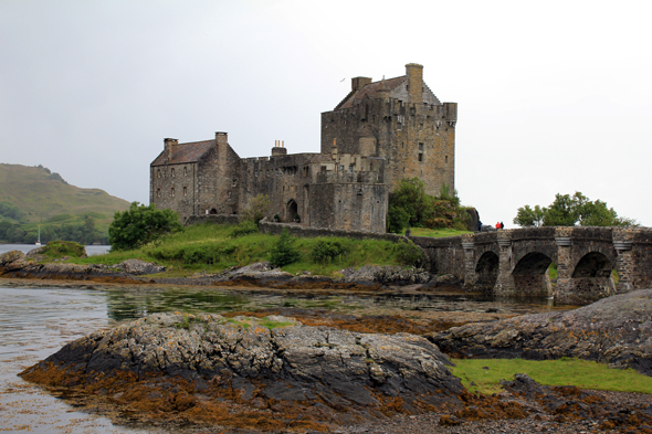The wonderful Eilean Donan Castle
