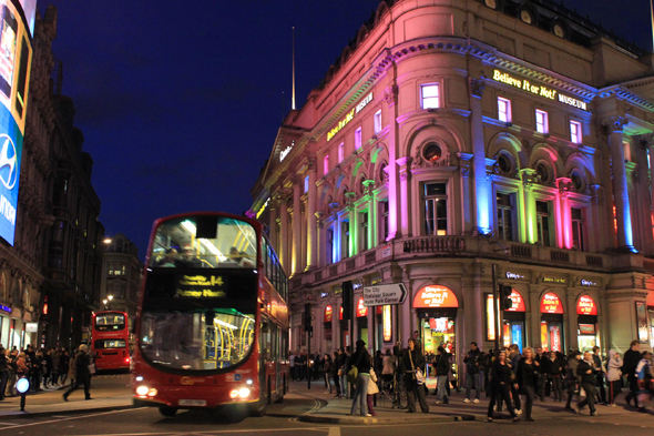 Londres, Coventry street, noche