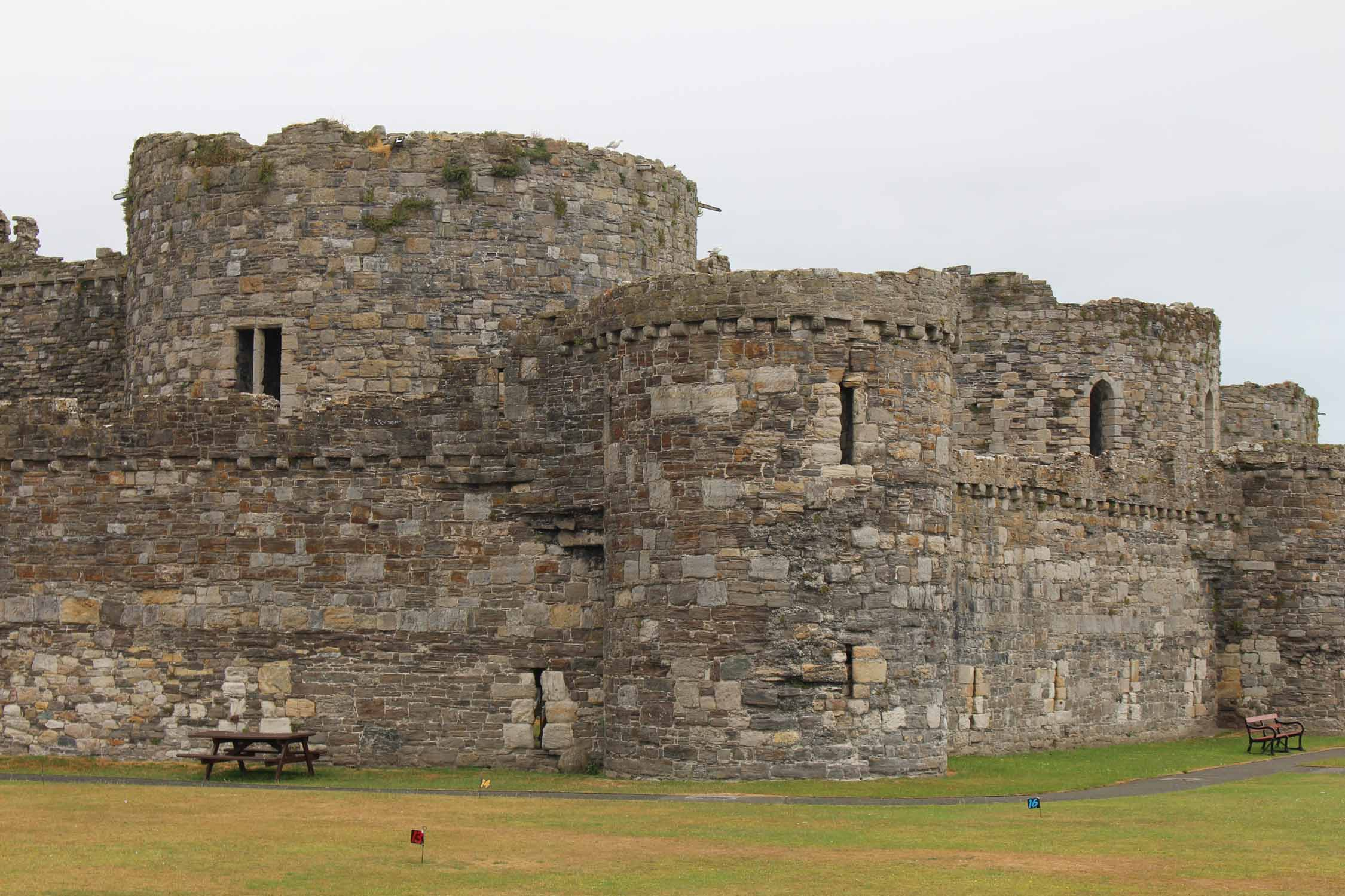 Gales, castillo de Beaumaris