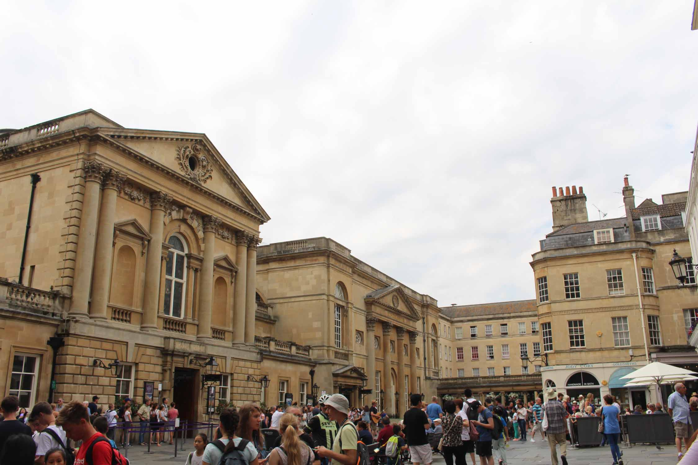 England, Bath, Pump Room square