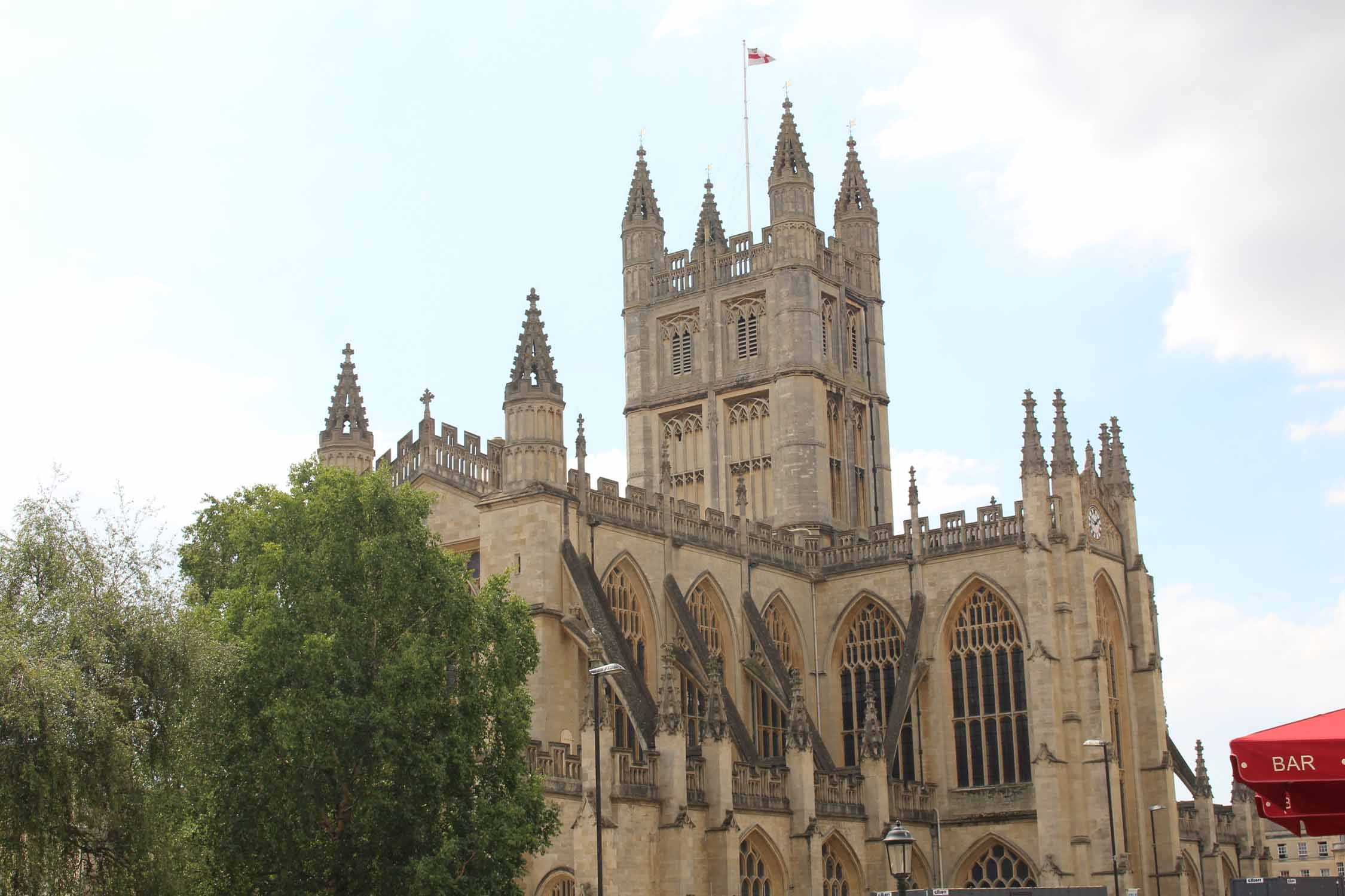 England, Bath, cathedral