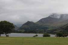 Lago Llyn Nantlle Uchaf