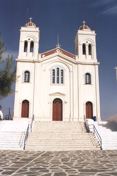 Naoussa, church of the Assumption