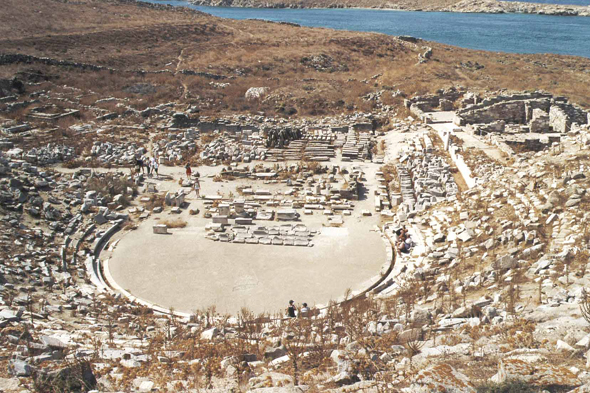 Theatre of Delos
