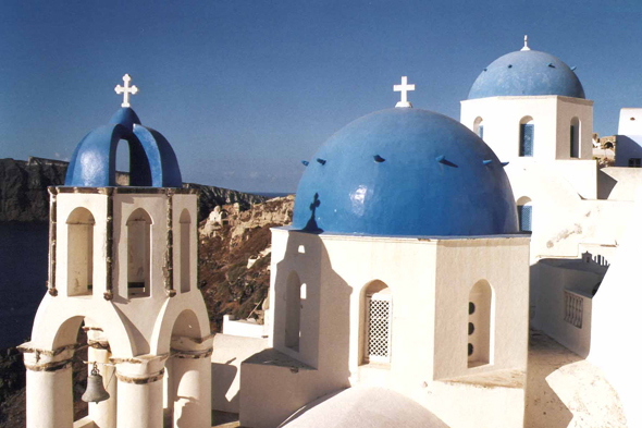 Oia, orthodoxe church