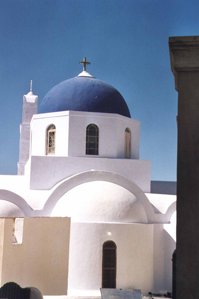 Santorini, village of Pyrgos