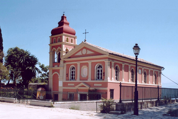 Corfu, church Platyteras