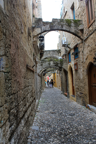 Rhodes, typical alley