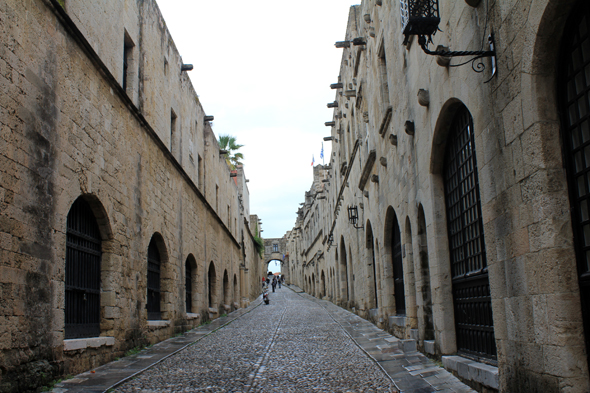 Rhodes, street of the Knights