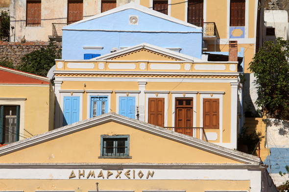 Symi, Greece, house