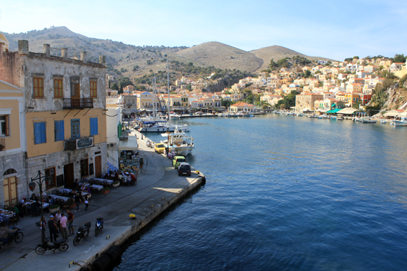 Symi, port, Greece