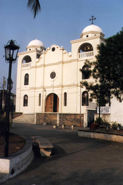 Guatemala, Flores, cathedral