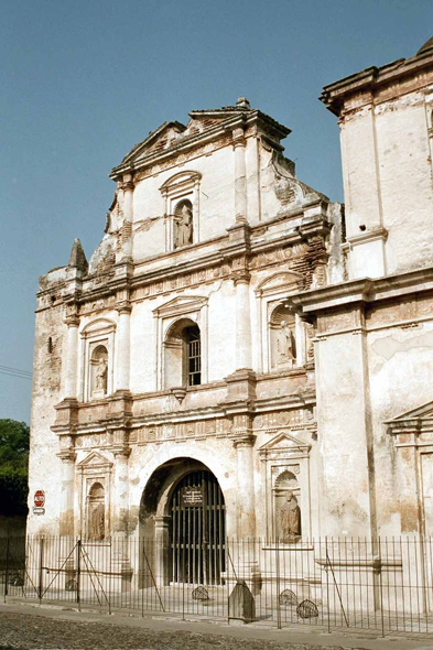Antigua, church San Agustin