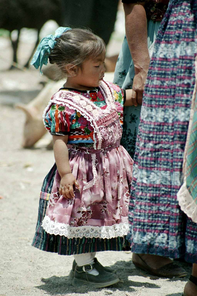 San Francisco de Alto, young girl