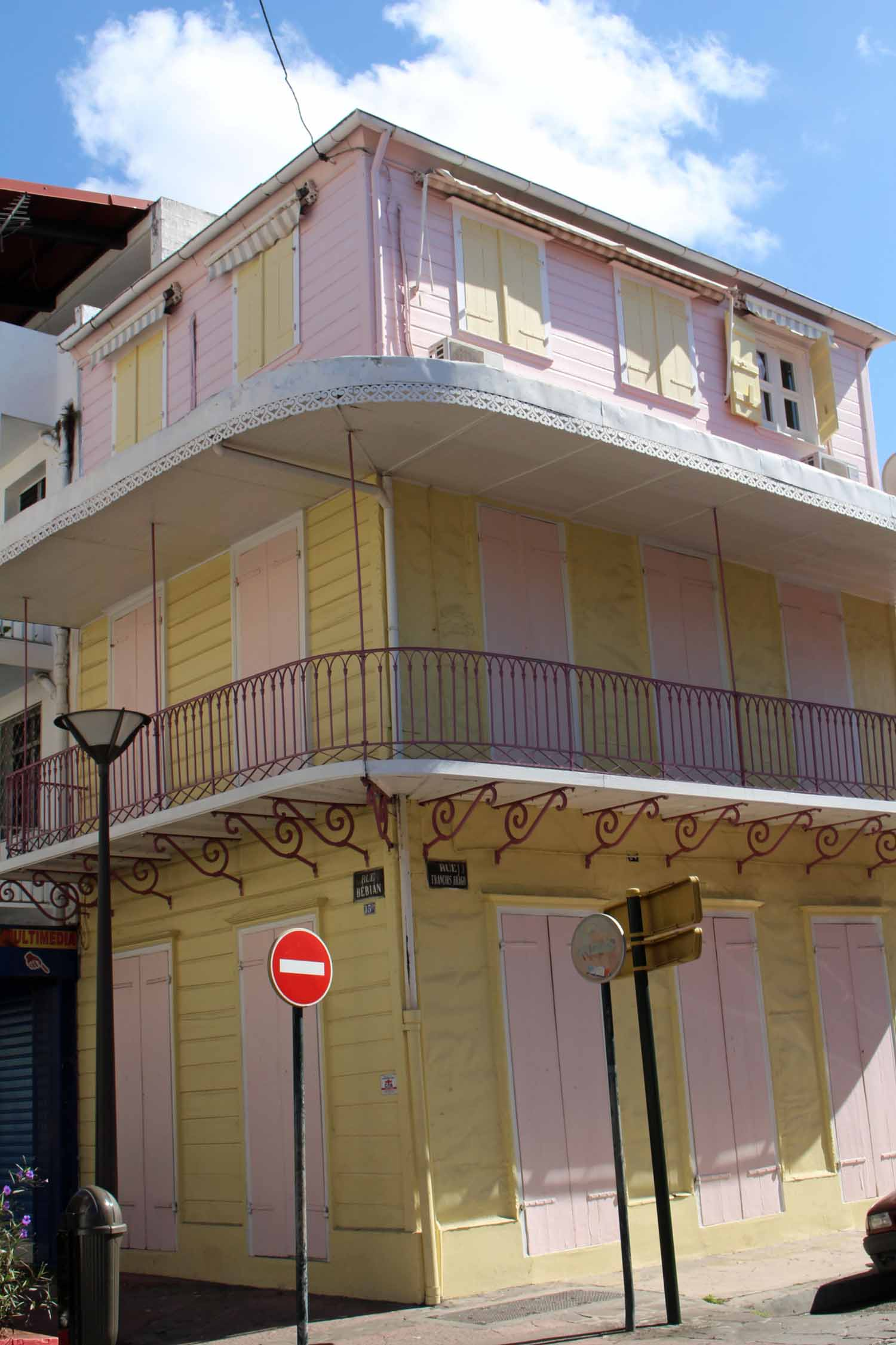Coloured house
