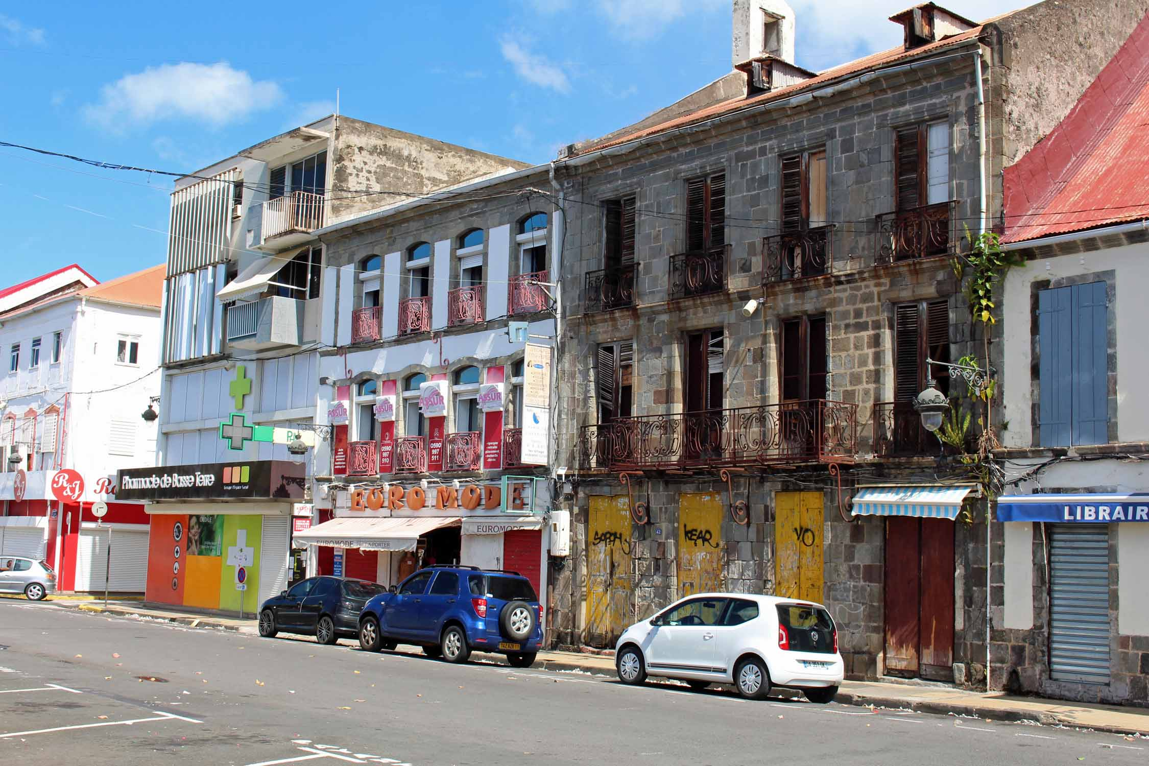 Basse-Terre, Guadeloupe, city center