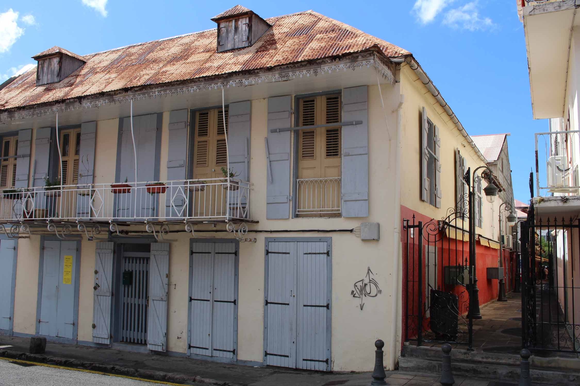 Basse-Terre, Guadeloupe, typical house