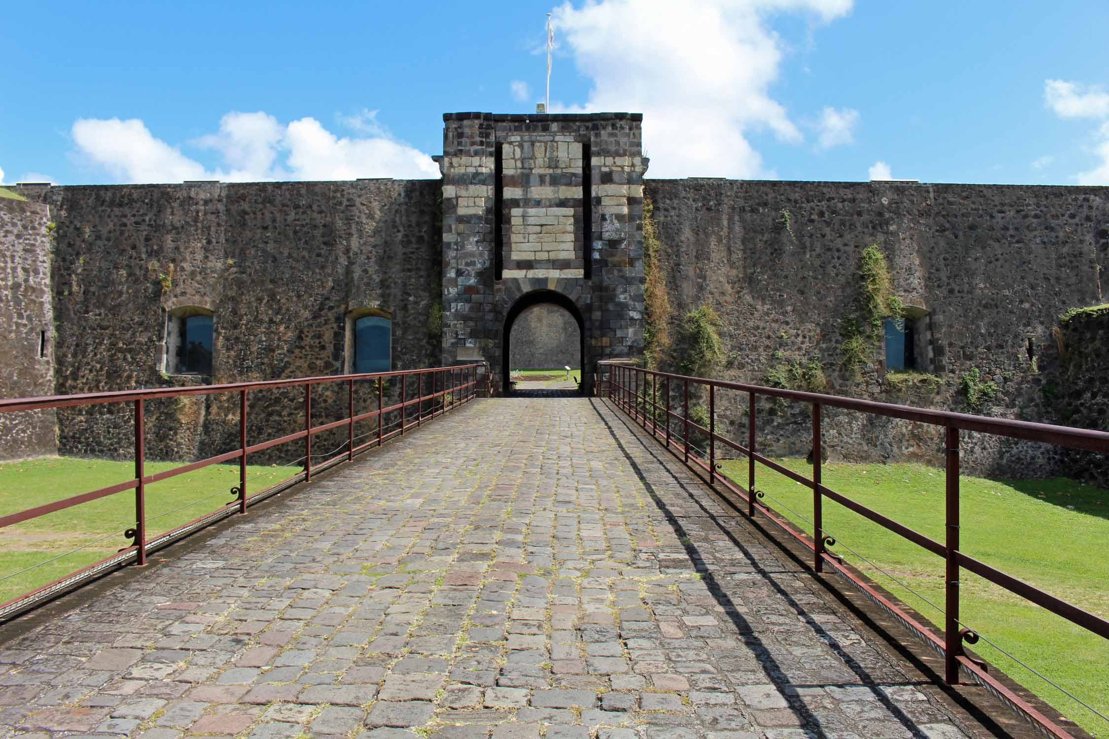 Basse-Terre, Guadeloupe, fortress Louis Delgrès