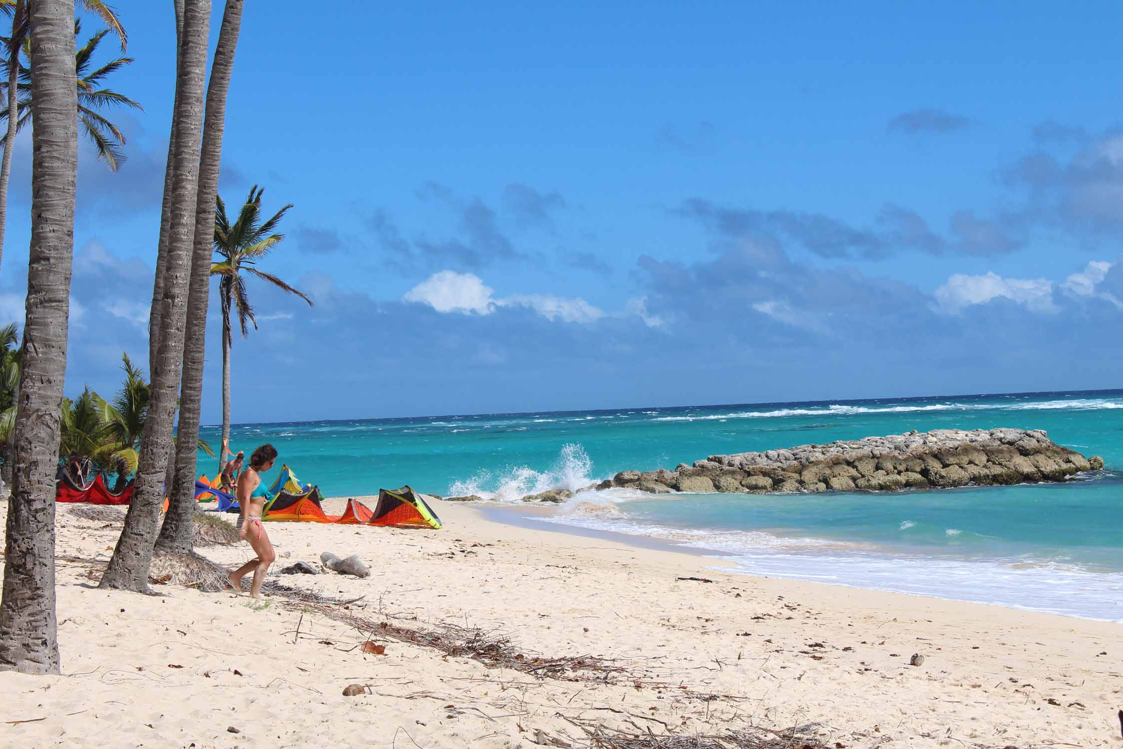 Marie-Galante, plage, sable blanc