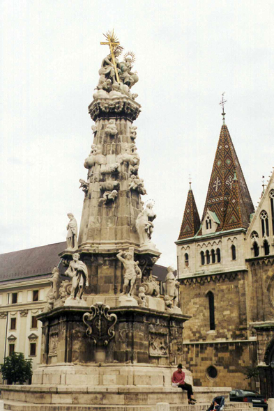 Budapest, Column of the Plague