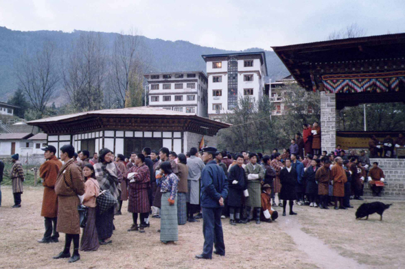 Thimphu, Tir à l'arc, sport national