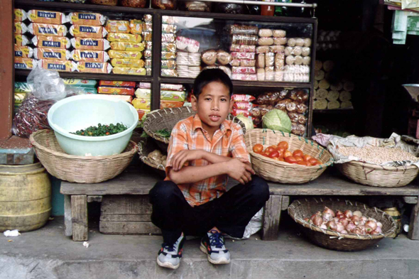 Gangtok, Melli Bazar, child