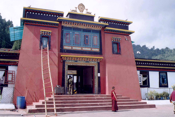 Gangtok, monastery of Rumtek