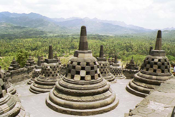 Temple de Borobudur, Java