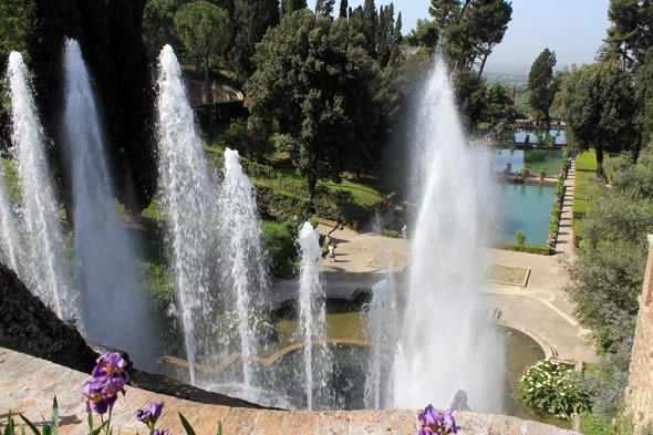 Villa d'Este, fontaine de l'orgue