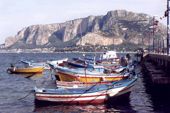 Mondello near Palermo in Sicily