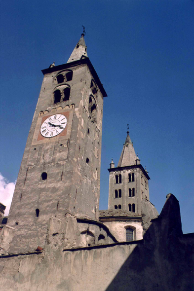 Aosta, city, cathedral