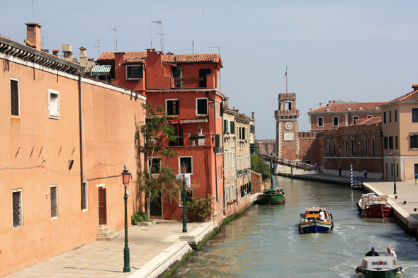 The district of Castello, Venice