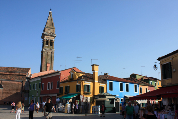 Burano, bell tower, San Martino