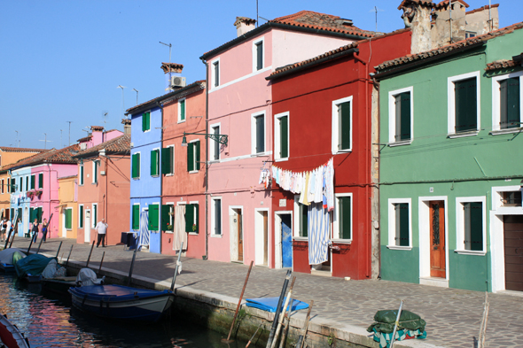 Burano, casas coloreadas