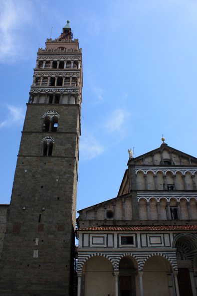 Pistoia, bell tower