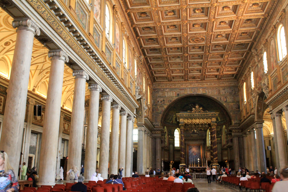 Basilica Saint Mary Major, nave