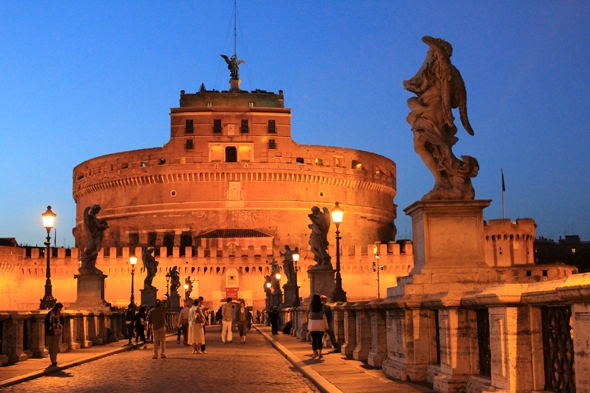 Castel Sant'Angelo, night