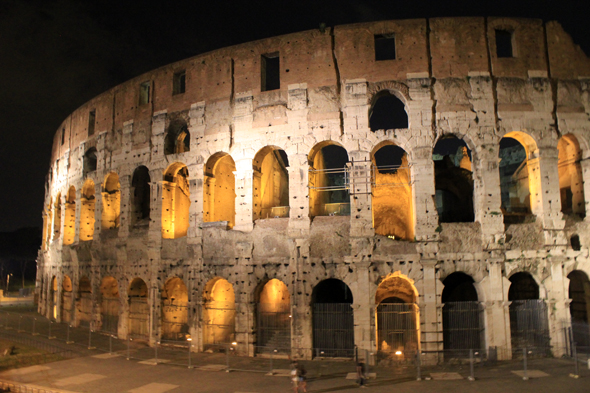 Colosseum, night