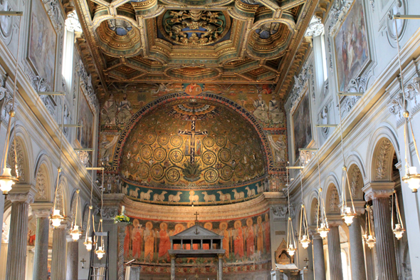 Basilica Saint Clement Lateran, choir