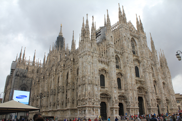 Milan, cathedral