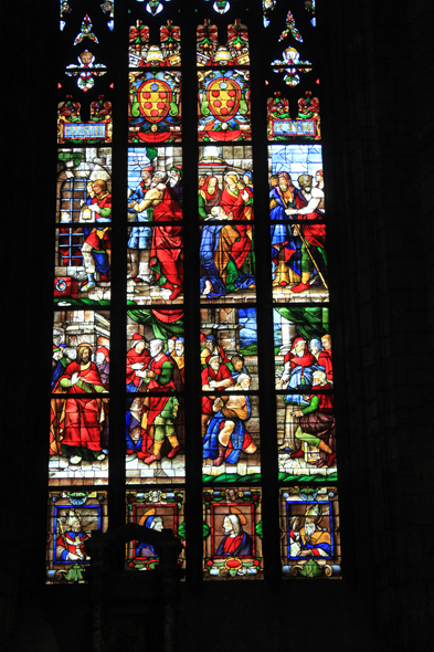 Milan, cathedral, stained glasses