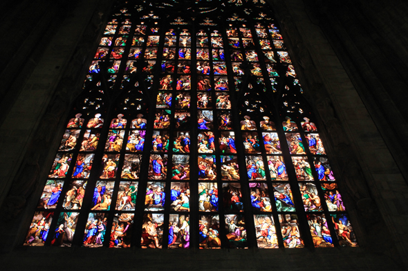 Cathedral of Milan, stained glasses