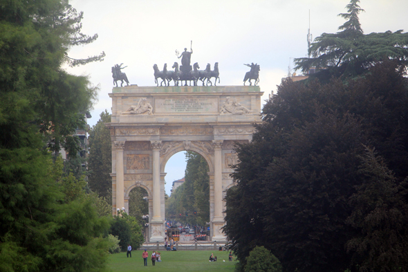 Milan, Arch of Peace