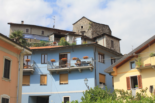 Mergozzo, typical house
