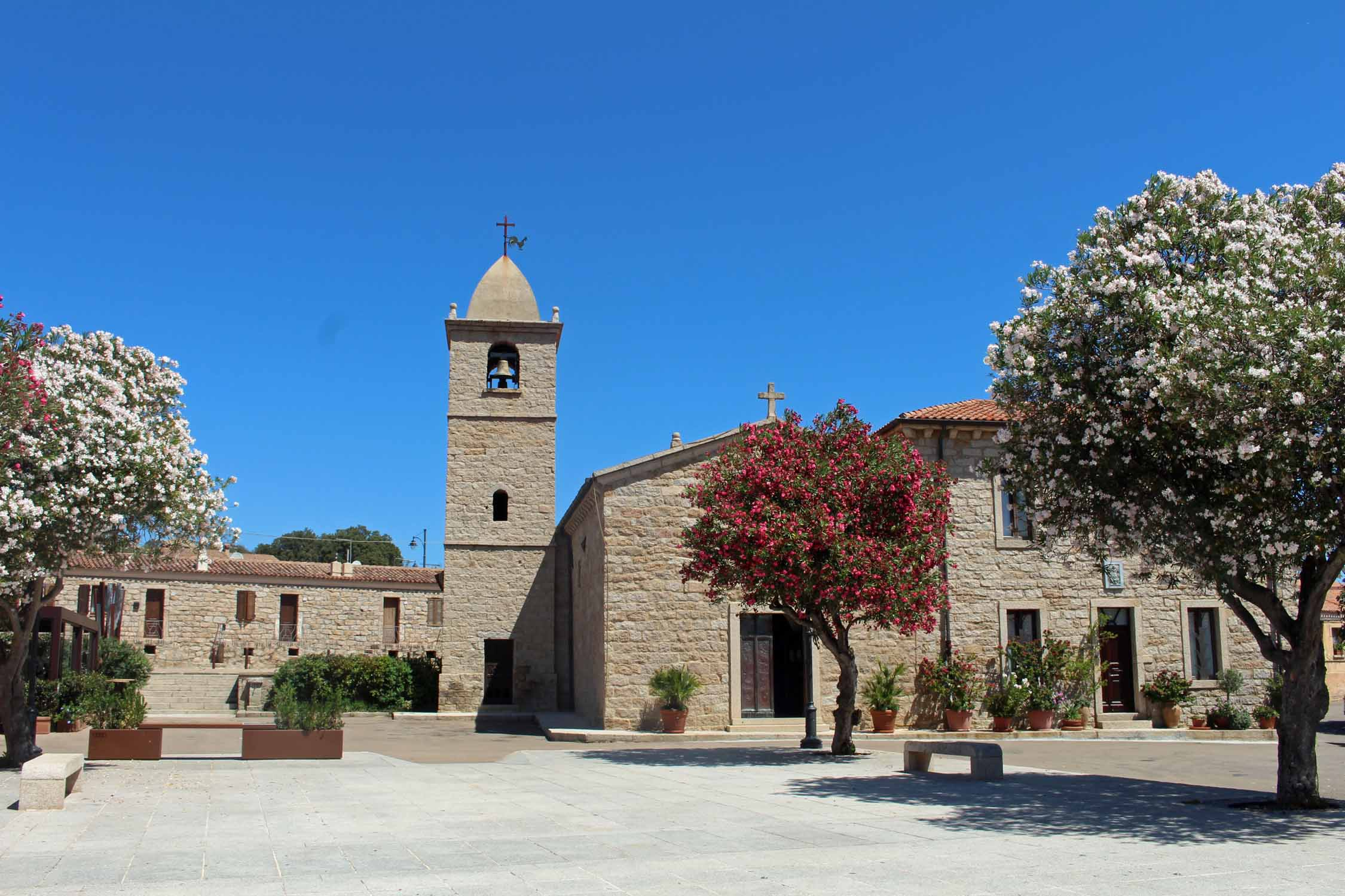 Sardinia, San Pantaleo, church