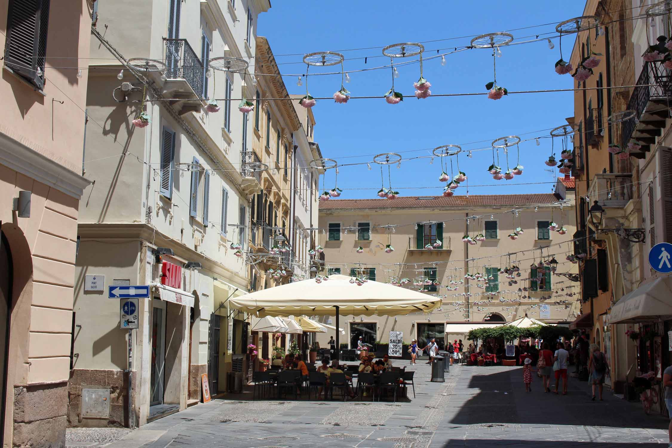 Alghero, Civic square