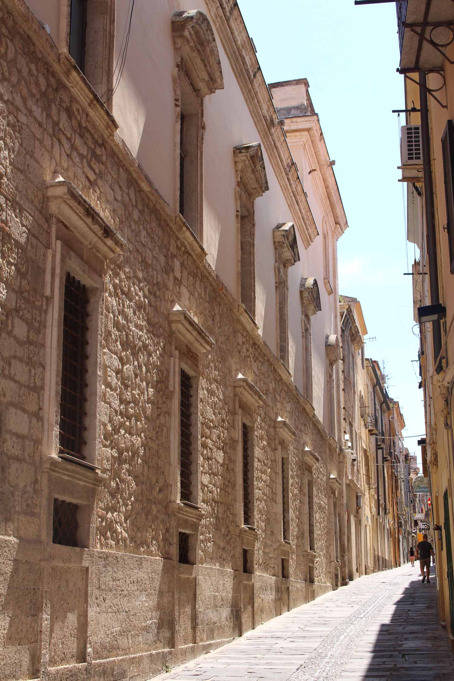 Sassari, typical alley